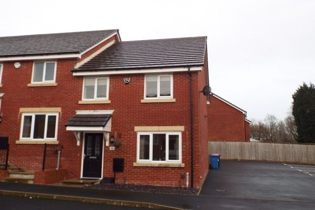 Thumbnail Mews house to rent in Spinners Drive, Worsley, Manchester
