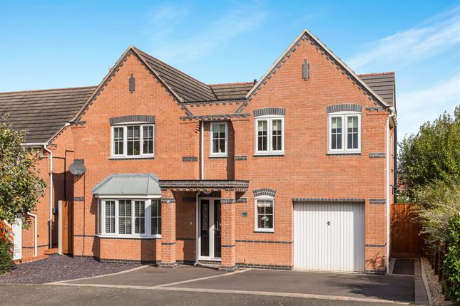 Thumbnail Detached house for sale in Seagrave Drive, Hasland, Chesterfield