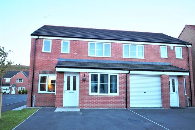 Thumbnail Semi-detached house for sale in Hunters Place, Guisborough
