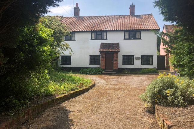 Thumbnail End terrace house for sale in Combs Lane, Stowmarket