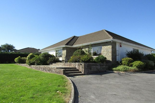 Thumbnail Detached bungalow to rent in Llanddarog, Carmarthen, Carmarthenshire
