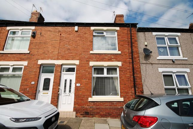 Thumbnail Terraced house for sale in Queens Road, Bishop Auckland