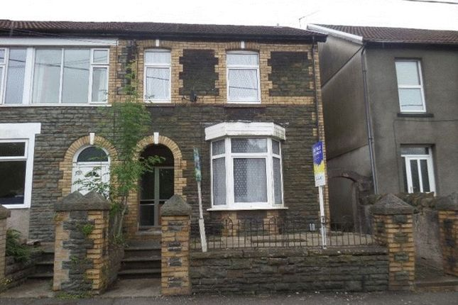 Thumbnail Semi-detached house for sale in Llantwit Road, Treforest, Pontypridd
