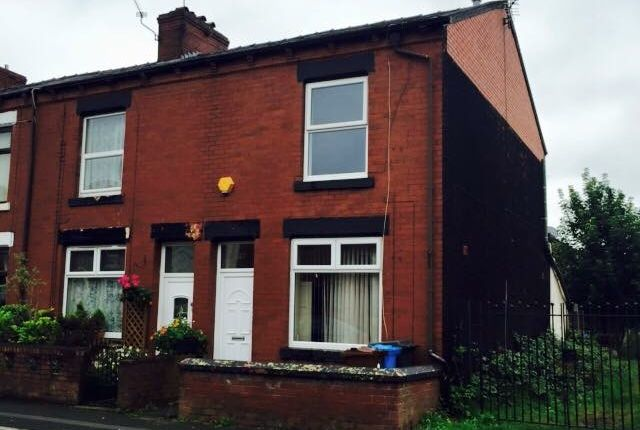 Thumbnail End terrace house to rent in Turf Lane, Chadderton