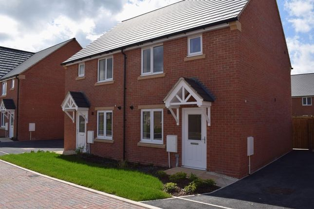 Thumbnail Terraced house for sale in Leofric Court, Copcut, Droitwich