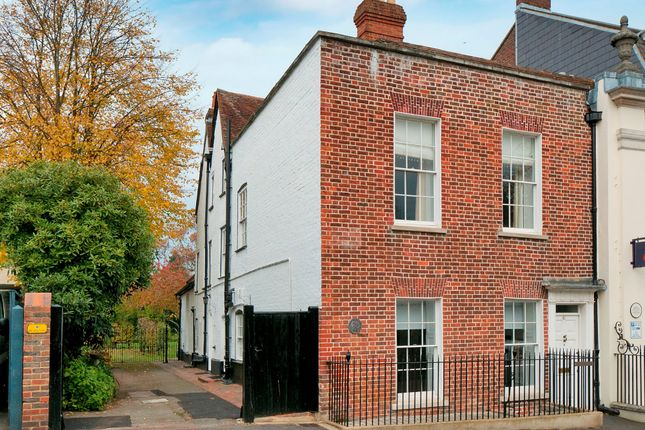 Thumbnail Town house for sale in Swan Street, West Malling