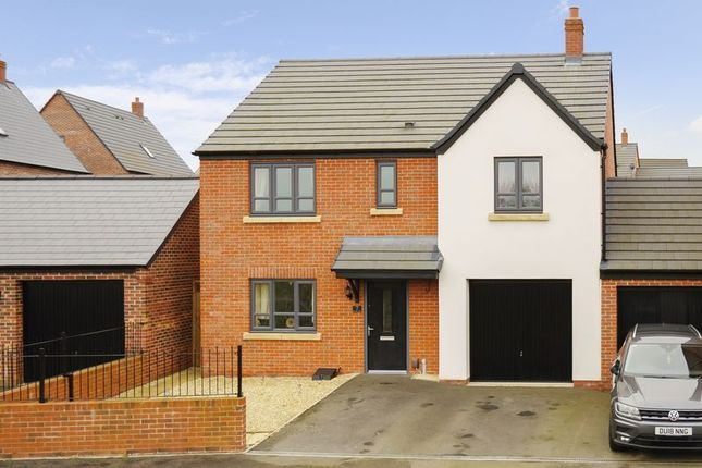 Thumbnail Detached house for sale in Monastery Close, Lawley Village, Telford