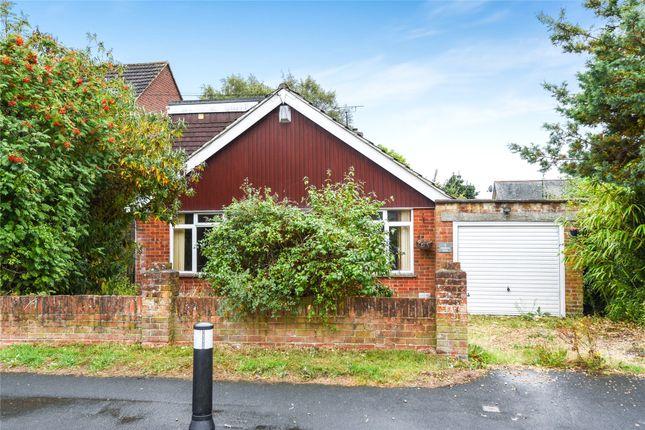 Thumbnail Detached bungalow for sale in Richmond Road, College Town, Sandhurst, Berkshire
