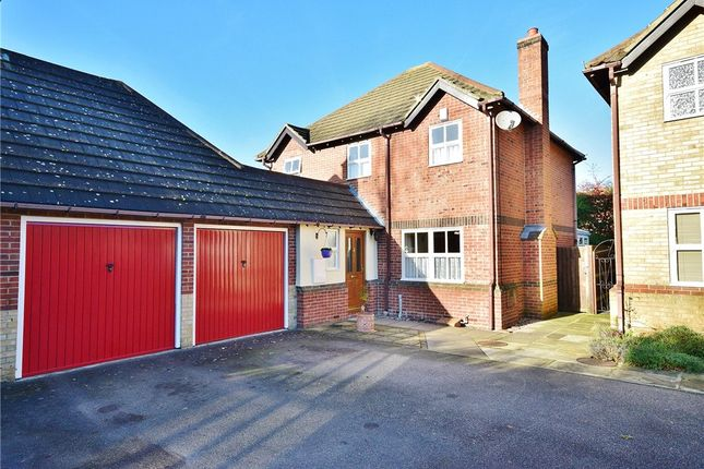 Thumbnail Detached house for sale in The Brambles, Bishop's Stortford