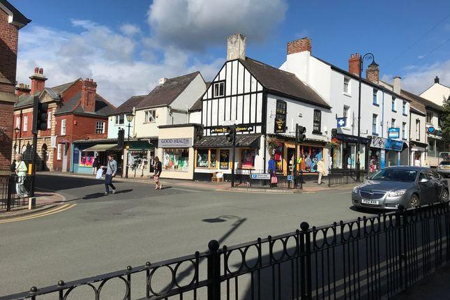 Thumbnail Retail premises for sale in Daniel Owen Square, Earl Road, Mold