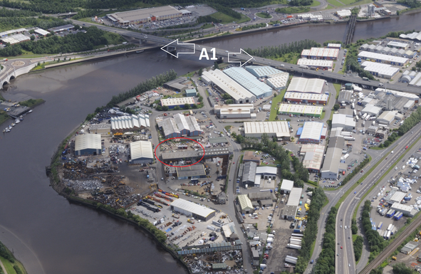 Thumbnail Industrial to let in Trans-Britannia Industrial Estate, Blaydon On Tyne