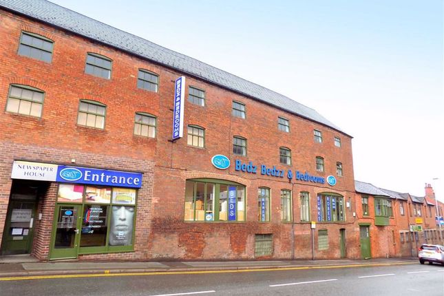 Commercial property to let in Brook Street, Leek, Staffordshire