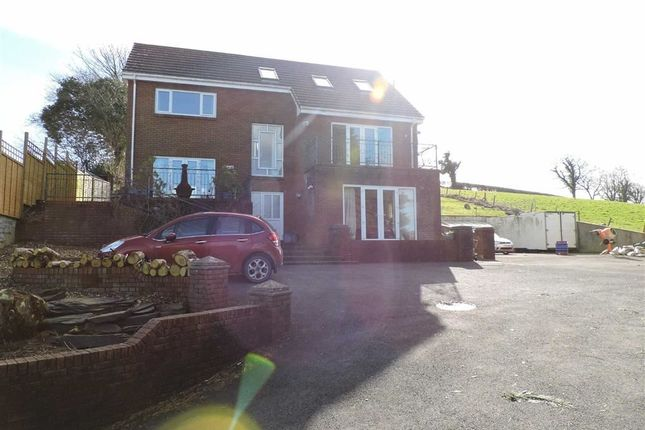 Thumbnail Detached house for sale in Heol Blaengwastod, Llangunnor, Carmarthen