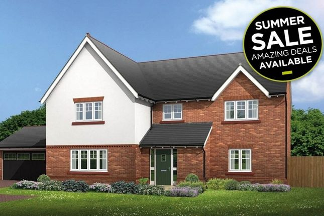 """Thumbnail Detached house for sale in """"Halstead"""" at Common Lane, Lach Dennis, Northwich"""