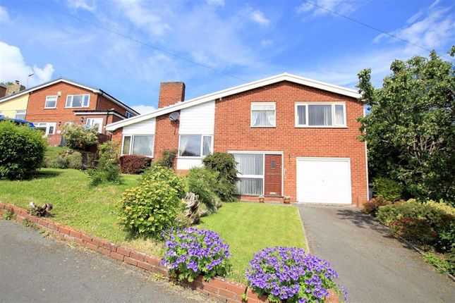 Thumbnail Detached house for sale in Wedgewood Heights, Holywell, Flintshire