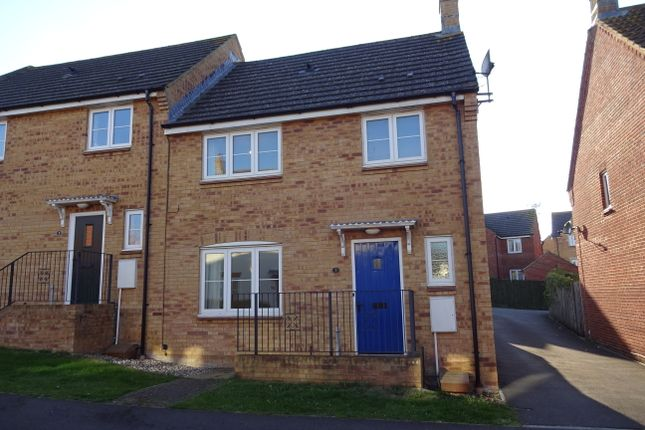 Thumbnail Semi-detached house to rent in Biddleston Road, Yeovil, Yeovil, Somerset