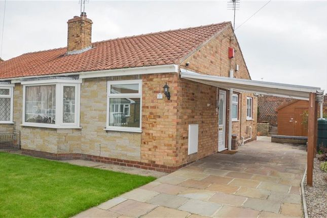 Thumbnail Semi-detached bungalow for sale in Blackthorn Drive, Huntington, York