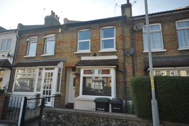 Thumbnail Terraced house to rent in Cecil Road, Northfleet, Gravesend
