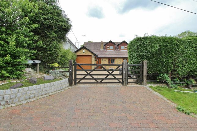 Thumbnail Detached house for sale in Church Road, West Kingsdown, Sevenoaks