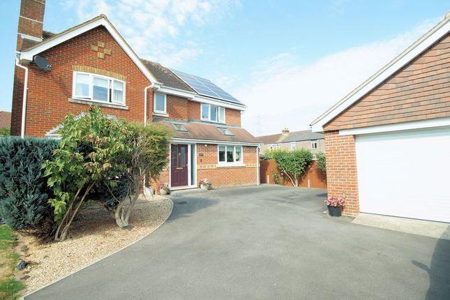 Thumbnail Detached house for sale in Partridge Close, Down End, Fareham