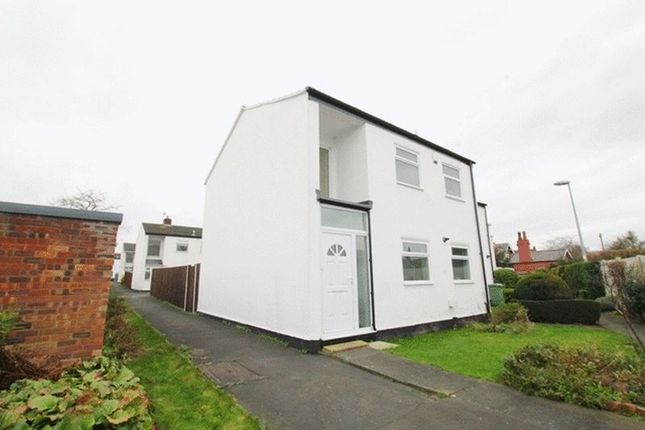 Thumbnail Semi-detached house for sale in Rossall Close, Hale Village, Liverpool