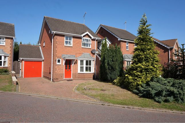 Thumbnail Link-detached house to rent in Bird Close, Mansfield