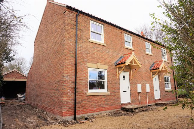 Thumbnail Semi-detached house for sale in Pulham, Driffield