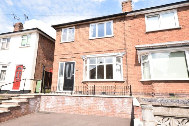 Thumbnail Semi-detached house to rent in Regent Street, Narborough, Leicester