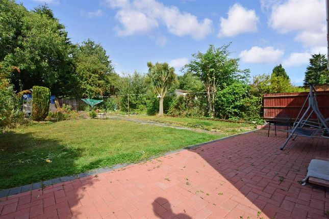 Rear Garden of The Upway, Basildon, Essex SS14