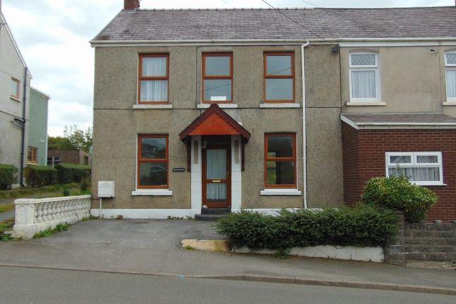 Thumbnail Semi-detached house to rent in Heol Y Meinciau, Pontyates, Llanelli