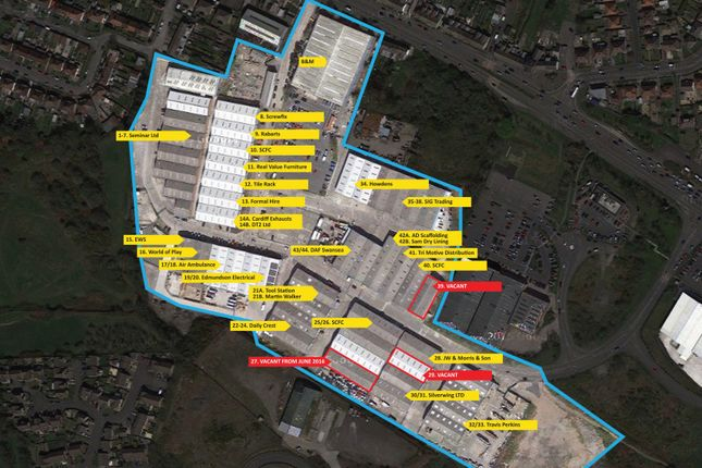 Thumbnail Industrial to let in Cwmdu Trade Parc, Swansea
