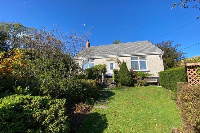 Thumbnail Detached bungalow for sale in Haulbryn Road, Nantymoel, Bridgend, Bridgend County.