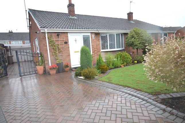 Thumbnail Semi-detached bungalow for sale in Duxbury Close, Rainford, St. Helens