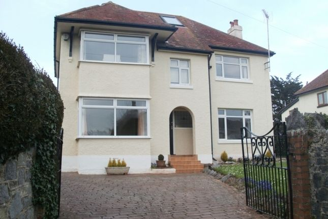 Thumbnail Detached house to rent in Huxtable Hill, Torquay