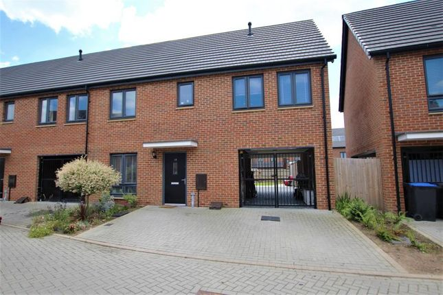 Thumbnail Semi-detached house to rent in Rydens Parade, Rydens Way, Old Woking, Woking