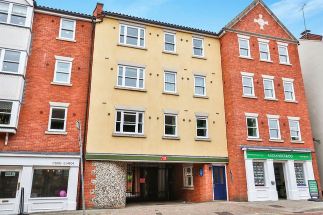 Thumbnail Flat for sale in St. Andrews Street, Norwich
