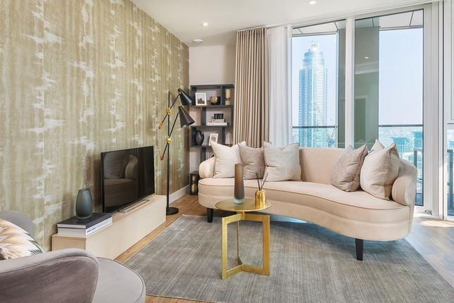 """Living Area of """"Waterford Point"""" at Wandsworth Road, London SW8"""