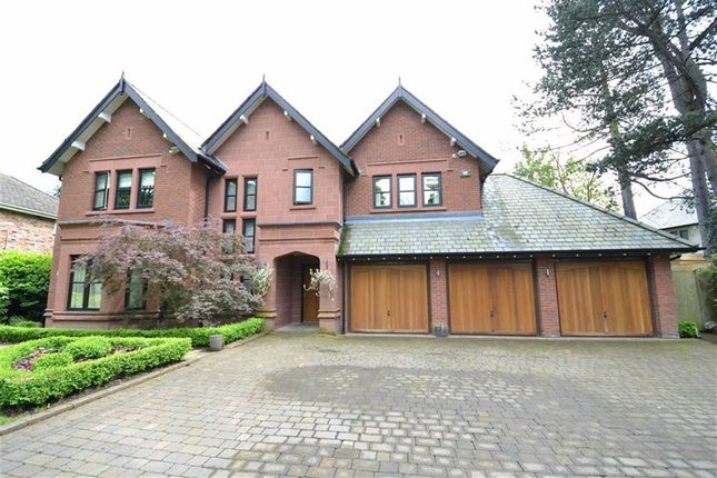 Thumbnail Detached house for sale in Wilmslow Park South, Wilmslow, Cheshire