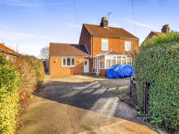 Thumbnail Semi-detached house for sale in Martham, Great Yarmouth, Norfolk