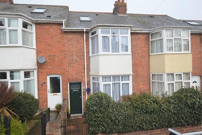 Thumbnail Terraced house for sale in Hanover Road, Heavitree, Exeter