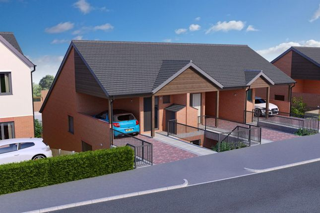 Thumbnail Town house for sale in School Lane, Southsea, Wrexham
