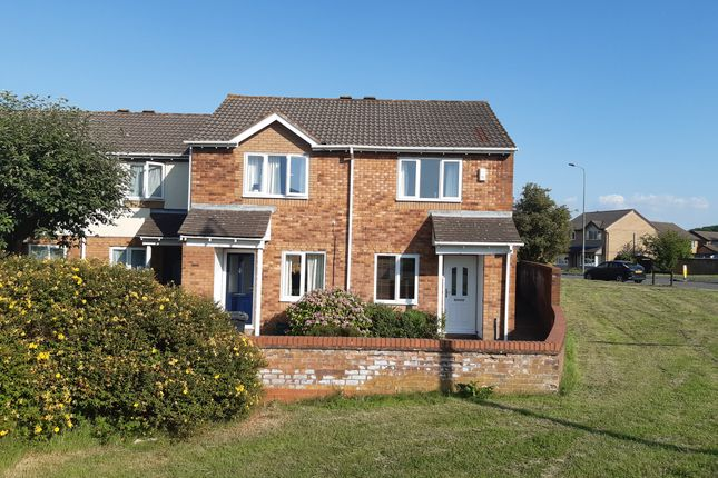 Thumbnail End terrace house to rent in Stanley Mead, Bradley Stoke