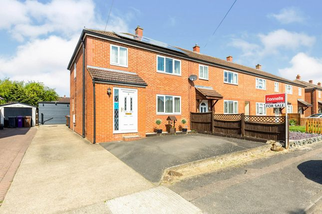 Thumbnail End terrace house for sale in Kimberley, Letchworth Garden City