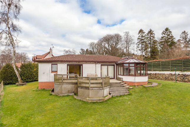 Thumbnail Detached bungalow for sale in Braeriach, Romanno Bridge, West Linton, Scottish Borders