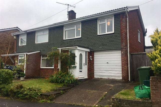 Thumbnail Semi-detached house for sale in St. Teilos Way, Caerphilly