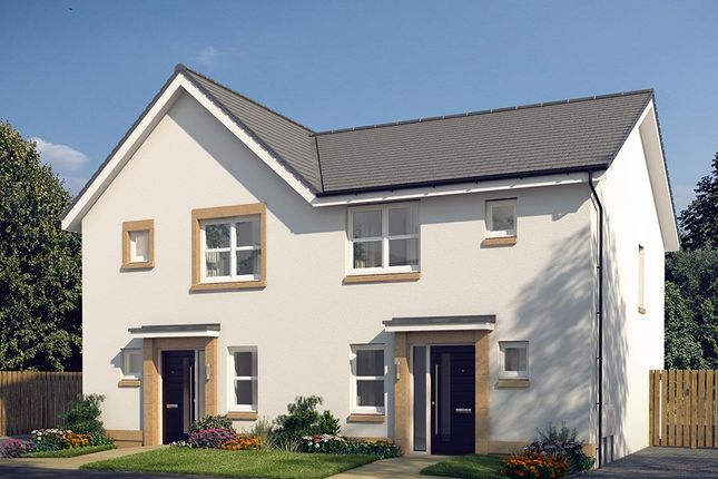"3 bedroom semi-detached house for sale in ""The Hamilton"" at Glasgow Road, Denny"