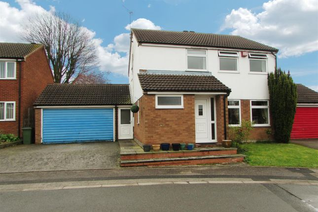 Thumbnail Detached house for sale in Jarrett Close, Enderby, Leicester