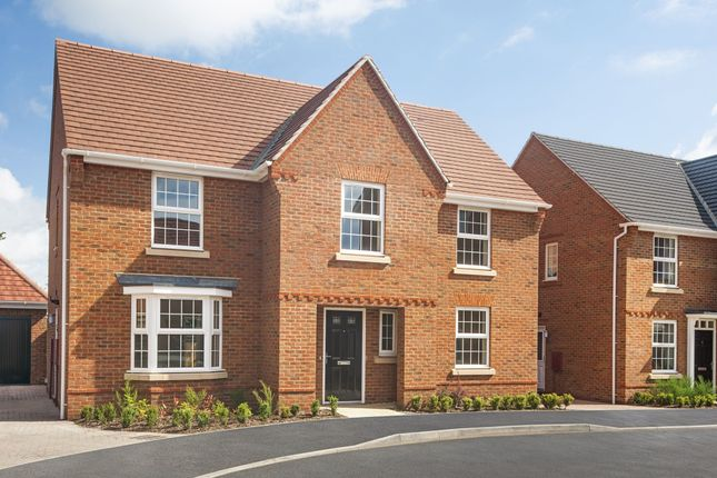 "Thumbnail Detached house for sale in ""Winstone"" at Crosstrees, Allotment Road, Sarisbury Green, Southampton"