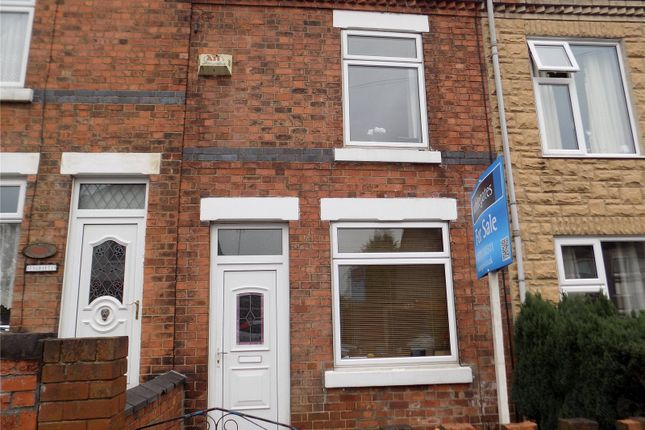 Thumbnail Terraced house for sale in Peel Street, Langley Mill, Nottingham, Derbyshire