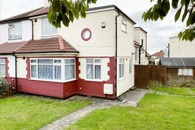 Thumbnail 5 bed semi-detached house to rent in Mollison Way, Edgware